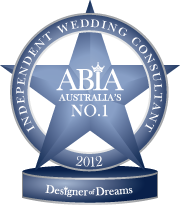 ABIA Wedding Consultancy First Place 2012