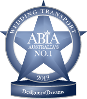 ABIA First Place Wedding Transport 2012