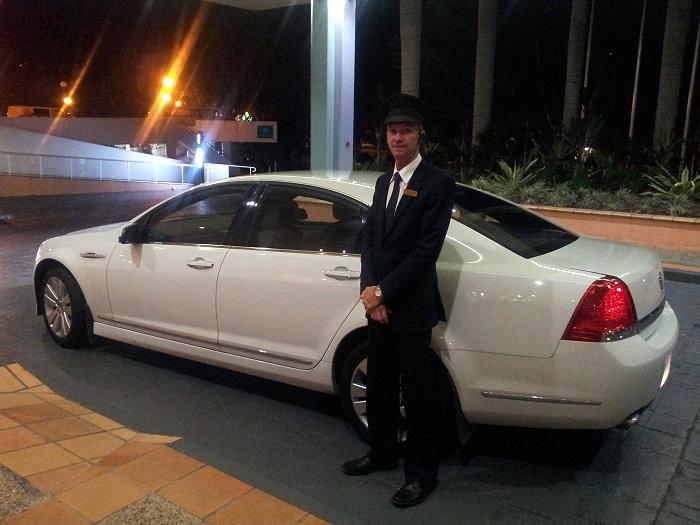 Sedan and Chauffeur
