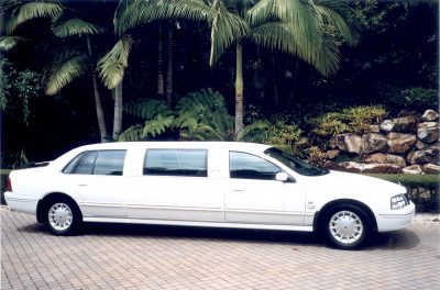 Stretch Limousine at Noosa
