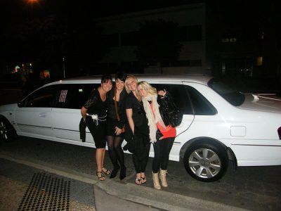 Girl's night out with a stretch limousine