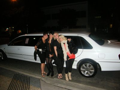Girls Night Out in a Noosa Stretch Limousine